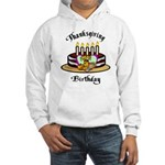 Thanksgiving Birthday Hooded Sweatshirt