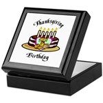 Thanksgiving Birthday Keepsake Box