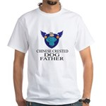 Chinese Crested Dog Father Shirt