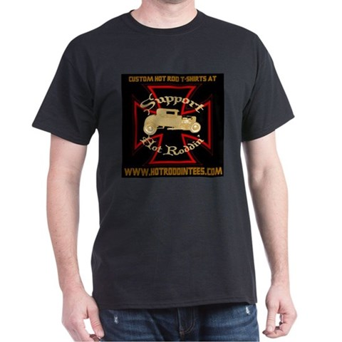 -Support HRT Hobbies Dark T-Shirt by CafePress