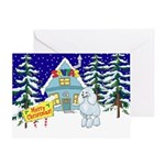 Santas Place Poodle Christmas Gifts
