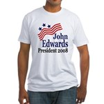 Edwards for President 2008 Fitted T-Shirt