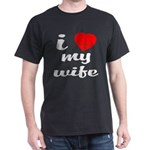 I (Heart w/ Butt) My Wife T-Shirt