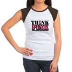 Breast Cancer Get Pink Women's Cap Sleeve T-Shirt