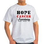 Hope Cancer Awareness Light T-Shirt