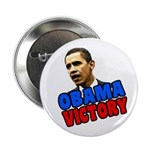 Barack Obama Victory Button
