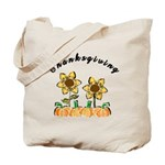 Thanksgiving Flowers Tote Bag