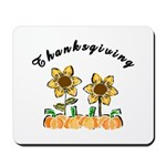 Thanksgiving Flowers Mousepad