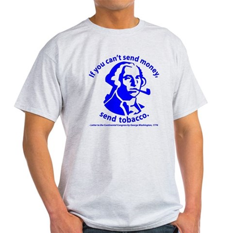 History Gift Guide - History Clothing - Washington's Pipe History T-Shirt