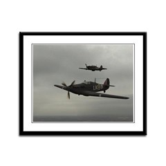 Hawker HurricaneFramed Panel Print