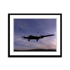 Avro Lancaster Framed Panel Print