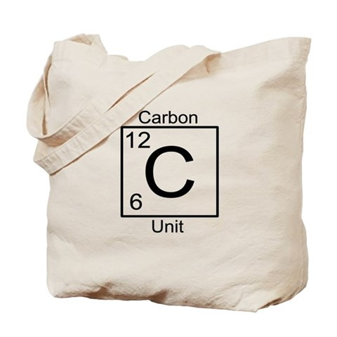 Carbon Unit Star trek Tote Bag