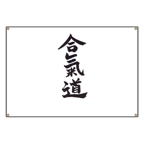 Aikido  Aikido Banner by CafePress
