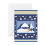 Snowflake Welsh Corgi Holiday Gifts & Cards