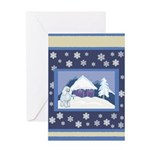Snowflake Poodle Holiday Gifts & Cards