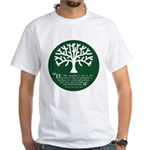 Planteth A Tree White T-Shirt