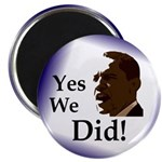 Yes We Did! Magnet