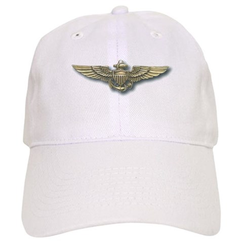 'Naval Aviator Wings'  Military Cap by CafePress