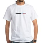 Opie for Obama White T-Shirt