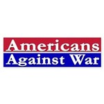 Americans Against War (bumper sticker)