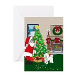 Deck The Halls Bichon Frise Christmas Presents