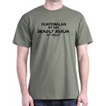 Guatemalan Deadly Ninja by Night T-Shirt