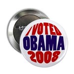 "I Voted Obama 2008 2.25"" Button"