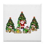 Christmas Gifts Tile Coaster