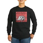 Cat Spay and Neuter Long Sleeve Dark T-Shirt