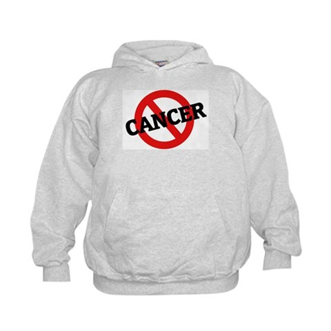 Anti Cancer  Health Kids Hoodie by CafePress