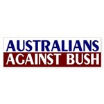 Australians Against Bush (bumper sticker)