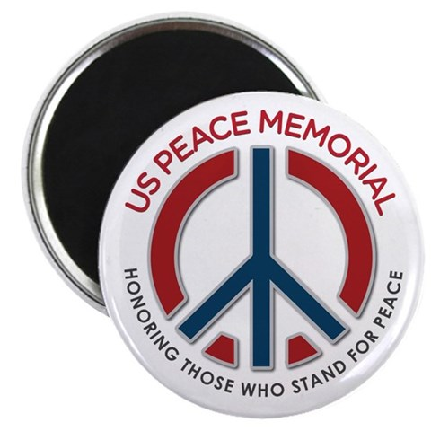 2.25quot; Magnet 100 pack Peace 2.25 Magnet 100 pack by CafePress