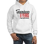 Lung Cancer Survivor Hooded Sweatshirt
