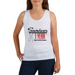 Lung Cancer Survivor 1 Year Women's Tank Top