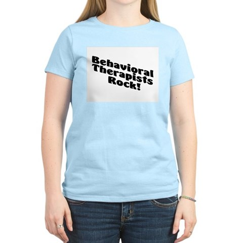 Product Image of Behavioral Therapist Rock! Women's Light T-Shirt