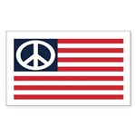American Peace Flag (bumper sticker)