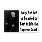 Judge Not Sarcastic small poster