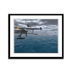 Fairey Swordfish Framed Panel Print