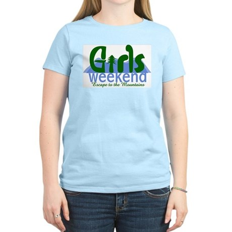 Mountain Girls Weekend Women&#8217;s Light T-Shirt