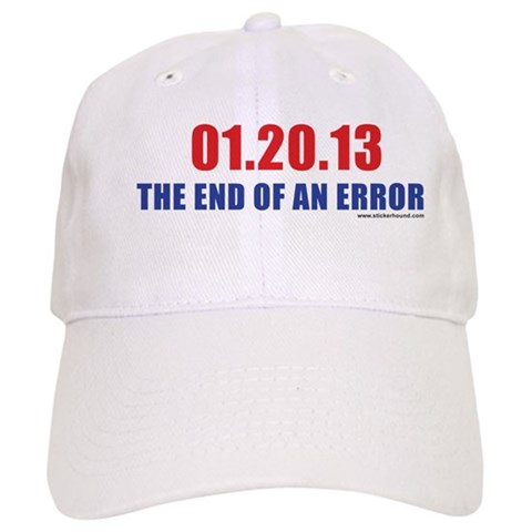 01.20.13 The End of An Error  Republican Cap by CafePress