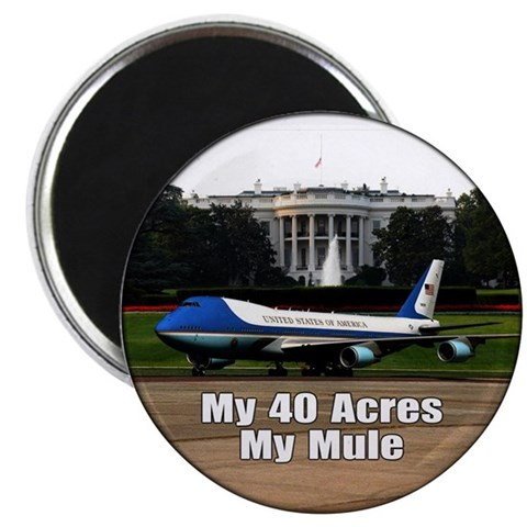 40 Acres and a Mule 2.25quot; Magnet 10 pack Republican 2.25 Magnet 10 pack by CafePress