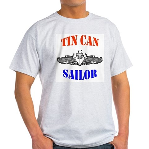 Tin Can Sailor Cupsthermosreviewcomplete Light T-Shirt by CafePress