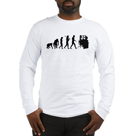 Editors film video tv editing Long Sleeve T Shirt by CafePress.com 329293808