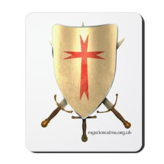 Templar Shield Mousepad