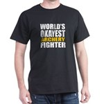 Worlds Okayest Archery Fighter T-Shirt