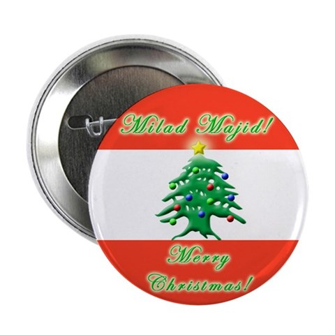 ''Milad Majid'' 2.25quot; Button Christian 2.25 Button by CafePress