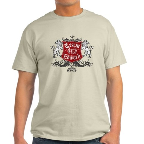 Team Edward Twilight Light T-Shirt by CafePress
