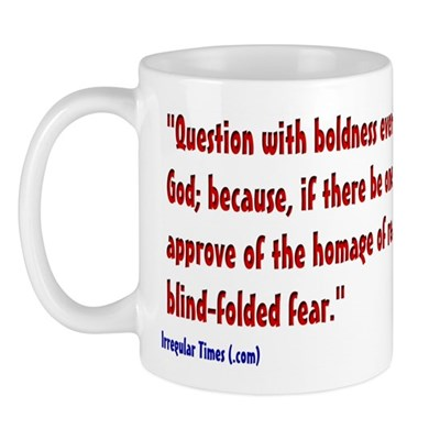 Question With Boldness Coffee Mug