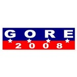 Gore 2008 (four star bumper sticker)