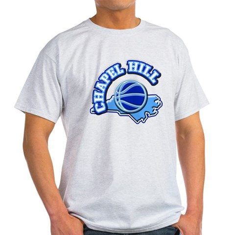 Chapel Hill Basketball  Sports Light T-Shirt by CafePress
